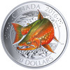 CANADIAN SALMONIDS: ARCTIC CHAR - 2016 $20 1 oz Fine Silver Coin