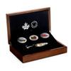 CANADIAN SALMONIDS : Atlantic Salmon  Fish 3 coins set –99.99% pure silver