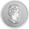 2016 Maple Leaf 1 oz Silver $5 Coins