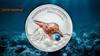 PEARL Triton trumpet - Miracle of the Sea - 2016 $5 1 oz Pure Silver Coin