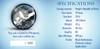 Panda Deep Frozen 10 Y 1oz Silver Ruthenium & Platinum PL Coin coa