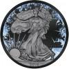 Walking Liberty Deep Frozen $1 1oz Silver Ruthenium & Platinum PL Coin 2016