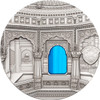Palau 2016 $10 Tiffany Art - Jain Temple India 2 Oz Silver Coin OB
