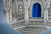 Palau 2016 $10 Tiffany Art - Jain Temple India 2 Oz Silver Coin