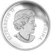 Star TrekTM Crew  Pure Silver Colored -Coin observe
