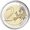 2 Euro Halloween Colored Coin 2016