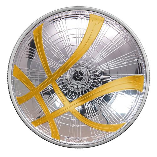 DR. STRANGE - Seal of the VISHANTI - MARVEL - 2017 2 oz Silver Domed Coin