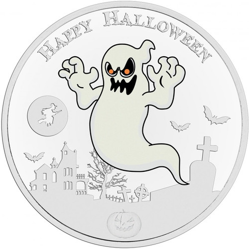 THE GHOST – GLOW IN THE DARK – 1 OZ Silver Coin Niue 2017