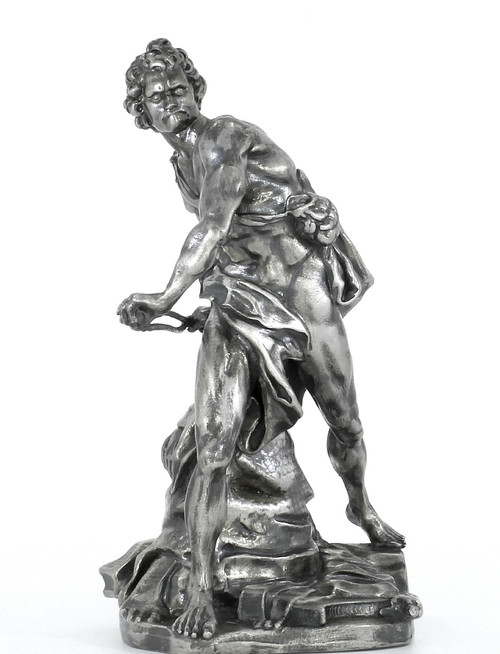 BERNINI's DAVID – 8 oz Silver 3D STATUE with Serial Number