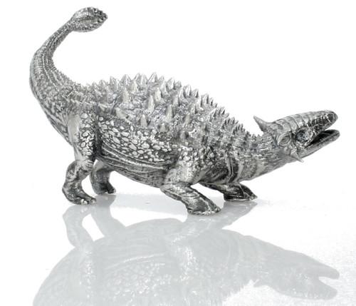 Ankylosaurus – 3D STATUE – 8 oz Silver 3D STATUE - SERIAL NUMBER
