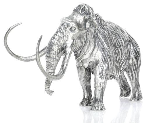 Woolly Mammoth – 8 oz 3D Silver Statue – Unique Serial No.