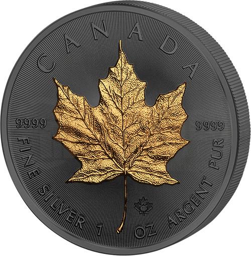 Maple Leaf 30th Anniversary Golden Enigma 1 oz Silver Coin - Canada 2018