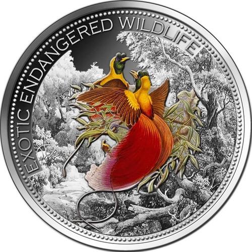 2 oz Paradisebird Silver Coin $20 Fiji 2012