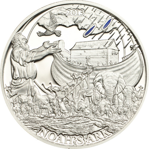 Arc of Noah Silver Proof Coin 2$ Palau 2013
