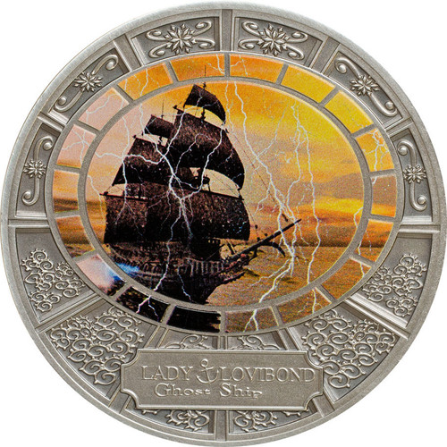 Tokelau 2015 5$ Lady Lovibond Silver Coin