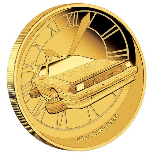 BACK TO THE FUTURE - 2015 1/4 oz Gold Proof Coin