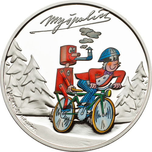 Cook Islands $1 2013 Proof Ctyrlistek Cartoons - Myspulin
