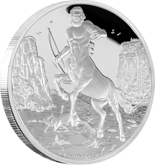 CENTAUR - Creatures Of Greek Mythology - 2016 1 oz Silver Coin