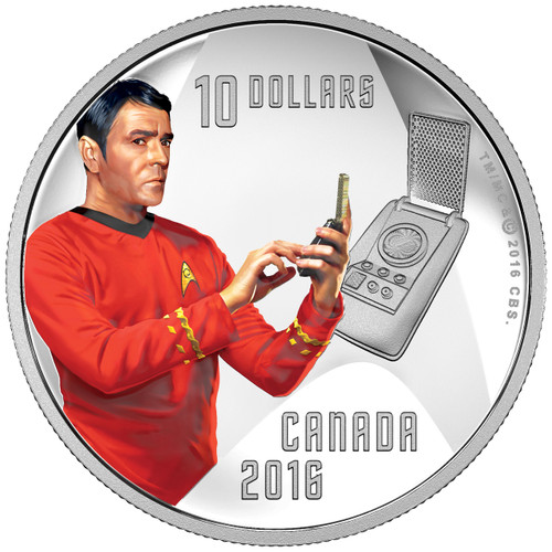SCOTTY - STAR TREK™ 2016 $10 Fine Silver Coin