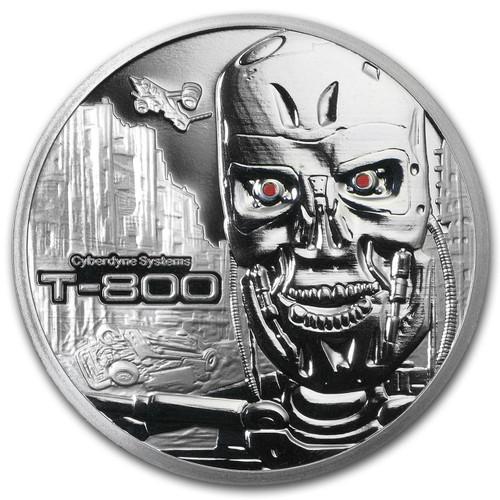 Stardust Terminator T-800 1 oz Silver Round
