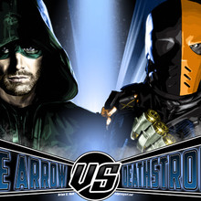 Arrow, Stephen Amell, Deathstroke, Brian C. Roll, Odyssey Art