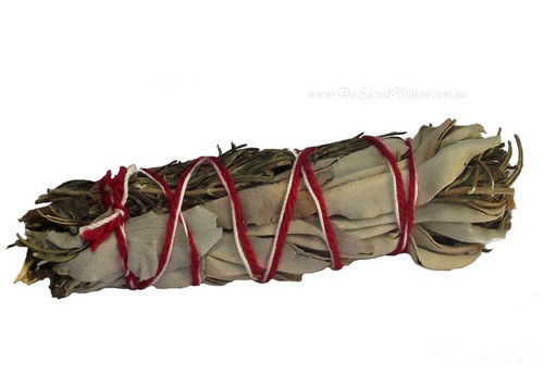 White Sage & Rosemary Smudge Stick