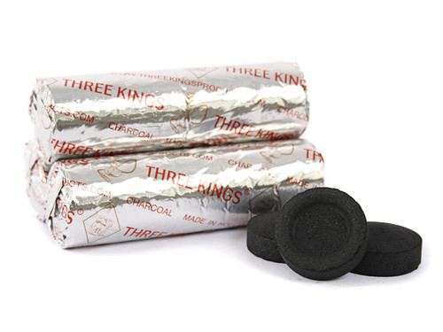 Three Kings 33mm Charcoal Roll