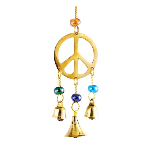 Brass Peace Wind Chime