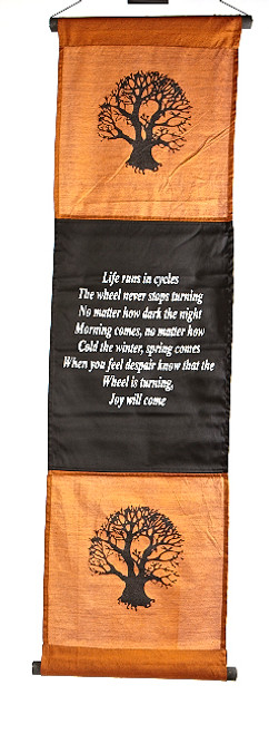 Tree of Life Affirmation Banner