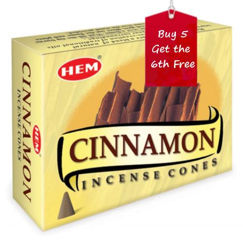 Cinnamon Hem Incense Cones