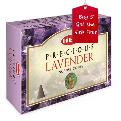 Lavender Hem Incense Cones