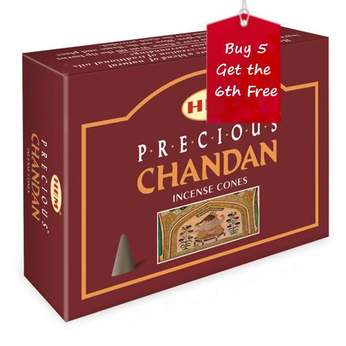 Precious Chandan Hem Incense Cones