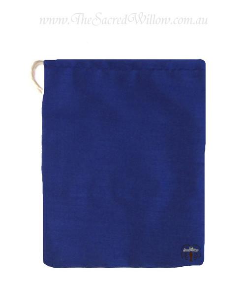Blue Cotton Mojo Bag 10cm