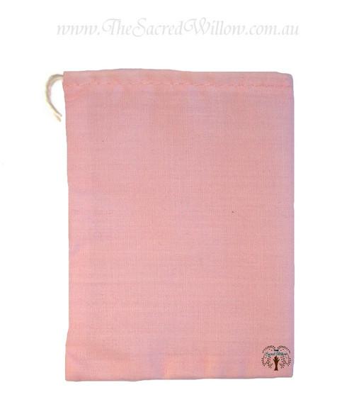 Pink Cotton Mojo Bag 10cm