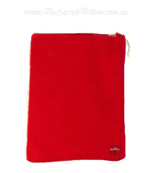 Red Flannel Mojo Bag 10cm