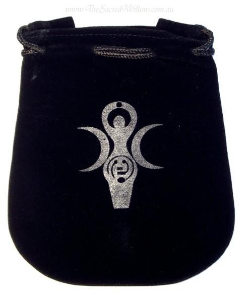 Goddess of Earth Velveteen Bag / Mojo Bag 13cm