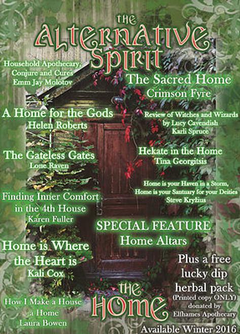 The Alternative Spirit Magazine  'Home' Winter 2016 Australian Hardcopy