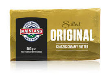 Mainland Butter 500g (Salted)