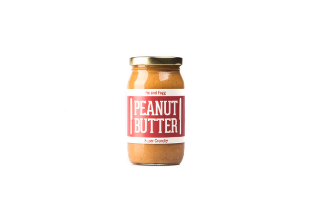 Fix and Fogg Peanut Butter - Super Crunchy 375g