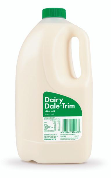 Milk - Dairy Dale Trim 2L