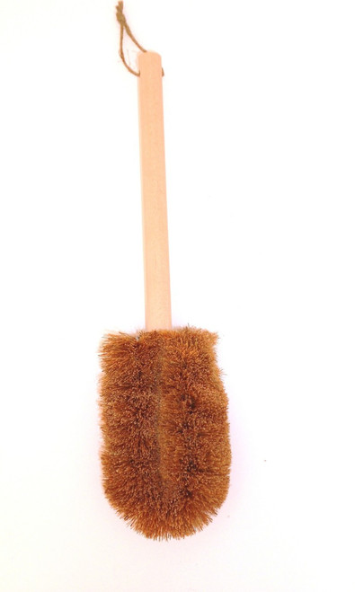 Body refiner skin brushes are wonderful for the lymphatic system of the body.  Made from all natural coconut palm fiber medium.  The color is  brown and bristiles are stiff.  Brushing the skin significantly increases blood flow to the surface of your skin  Make your skin glow, many health benefits.   The benefits of dry skin brushing include:      Listen up ladies: Increasing the circulation to the skin could possibly reduce the appearance of cellulite. Cellulite is toxic material accumulated in your body's fat cells. So, rather than take drastic measures like liposuction, how about utilizing the dry skin brushing techniques to help break down unwanted toxins?     Dry body brushing helps shed dead skin cells (and encourages new cell renewal), which results in smoother and brighter skin. It can also help with any pesky ingrown hairs.     It assists in improving vascular blood circulation and lymphatic drainage. By releasing toxins, it encourages the body's discharge of metabolic wastes so the body is able to run more effectively.     Dry skin brushing rejuvenates the nervous system by stimulating nerve endings in the skin (and it feels pretty great, too!).     It helps with muscle tone and gives you a more even distribution of fat deposits.     Dry skin brushing helps your skin to absorb nutrients by eliminating clogged pores.      And, in my experience, dry body brushing first thing in the morning can actually set up a perfect day! By doing something solely for yourself first thing in the morning, you can develop a beautiful follow-through effect.