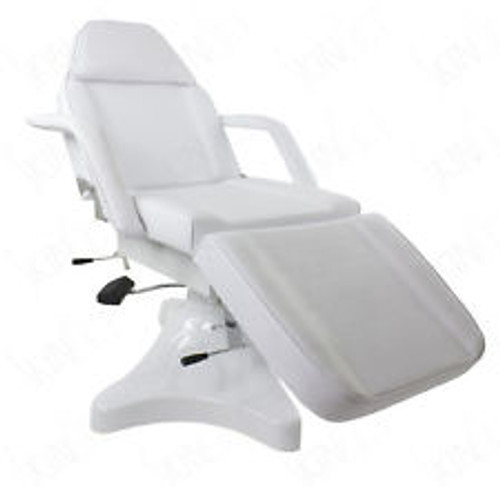 HYDRAULIC MASSAGE TABLE FACIAL BED SALON CHAIR WITH FREE STOOL .SHIPPING FROM USA. ONE YEAR WARRANTY
