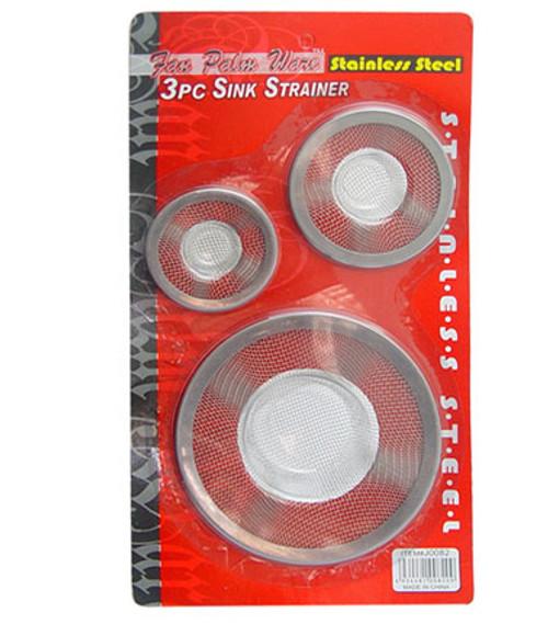 J0082 - 3PC SINK STRAINER