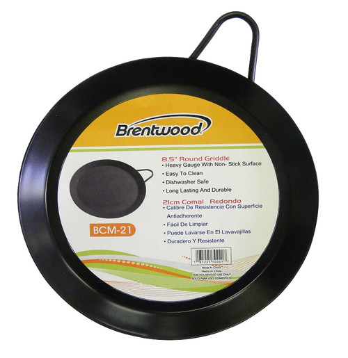 """BCM21 - 8.5"""" Round Griddle"""