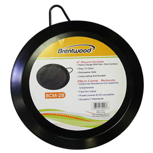 """BCM28  - 11"""" Round Griddle"""
