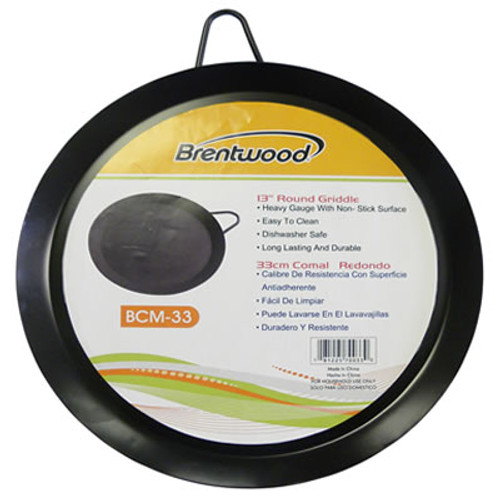 """BCM33 - 13"""" Round Griddle"""