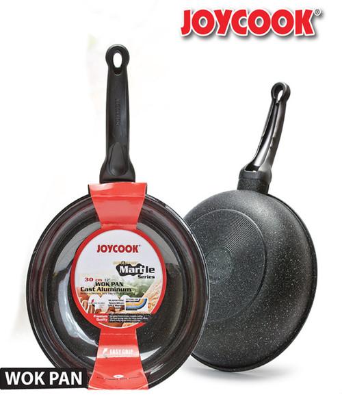 JOYCOOK -  30CM  DURASTONE MARBLE SERIES WOK PAN