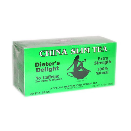 88002 - 20 BAGS China Slim Tea Dieter's Delight Extra Strength 100% Natural