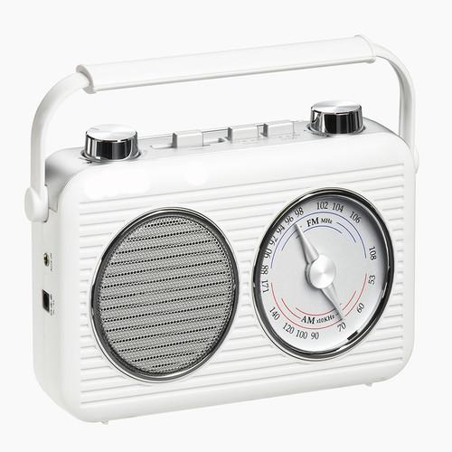 Electro Brand AM/FM Portable Classic Radio