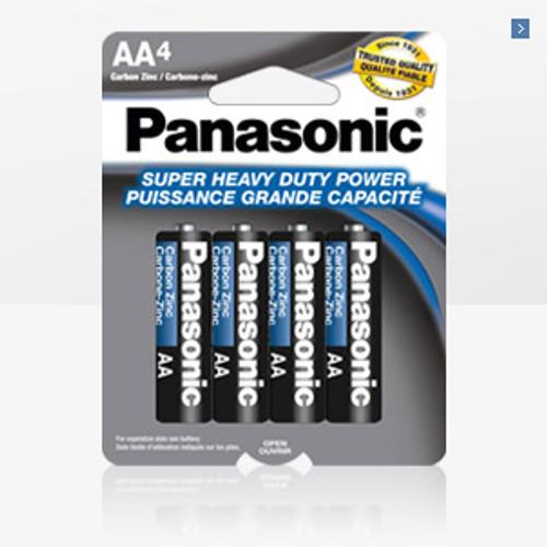 PANASONIC SIZE AA 4 PACK BATTERY